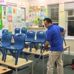 أفضل شركة تنظيف وتعقيم مدارس